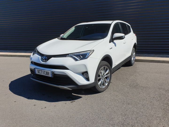 Toyota Rav4 iv 2 hybride dynamic edition bva Blanc Occasion - 1