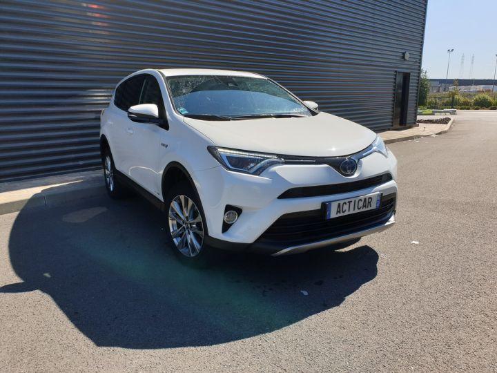 Toyota Rav4 iv 2 hybride dynamic edition bva Blanc Occasion - 2