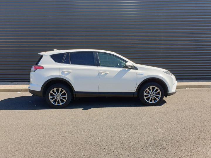 Toyota Rav4 iv 2 hybride dynamic edition bva Blanc Occasion - 3