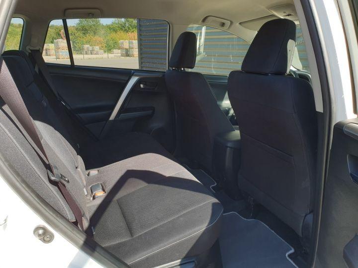 Toyota Rav4 iv 2 hybride dynamic edition bva Blanc Occasion - 6