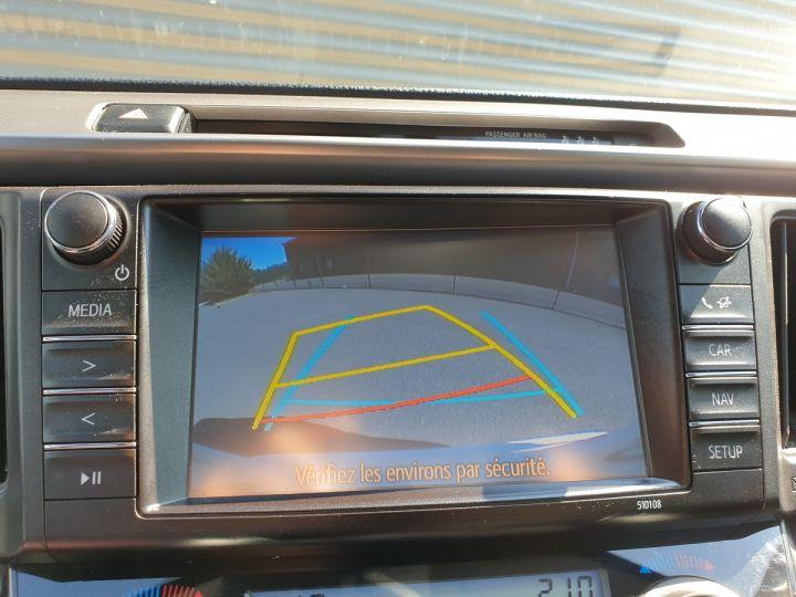 Toyota Rav4 iv 2 hybride dynamic edition bva Blanc Occasion - 9