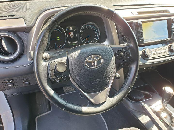 Toyota Rav4 iv 2 hybride dynamic edition bva Blanc Occasion - 11