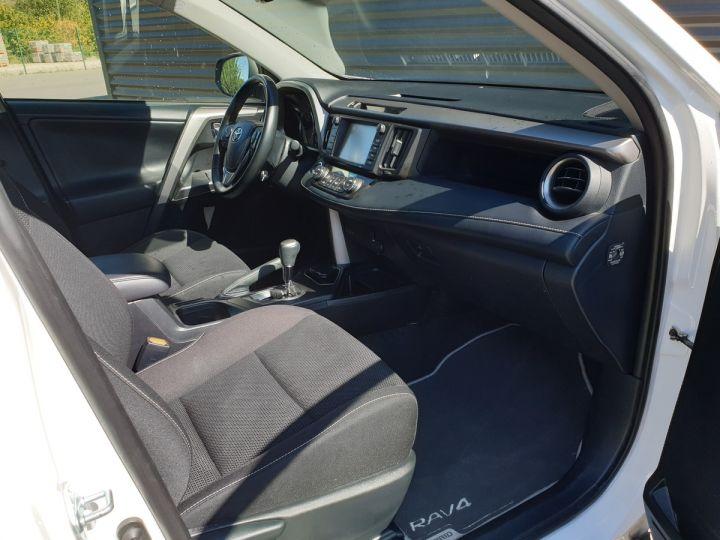 Toyota Rav4 iv 2 hybride dynamic edition bva Blanc Occasion - 16