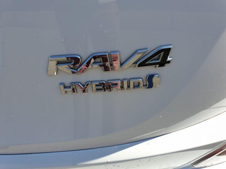 Toyota Rav4 iv 2 hybride dynamic edition bva Blanc Occasion - 20