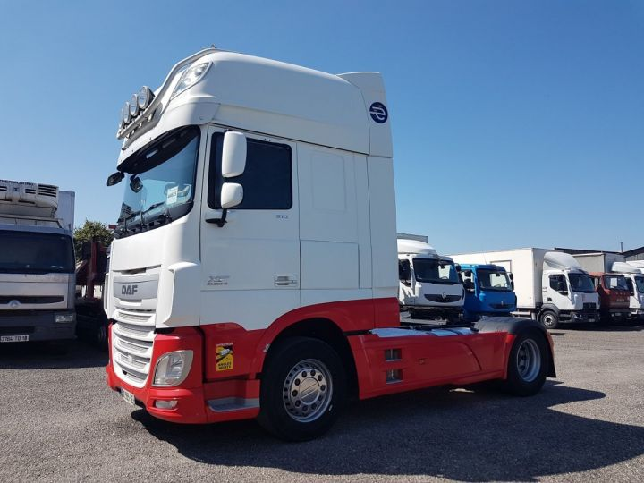 Tractor truck Daf XF 106.510 SSC - INTARDER BLNC - ROUGE - 1