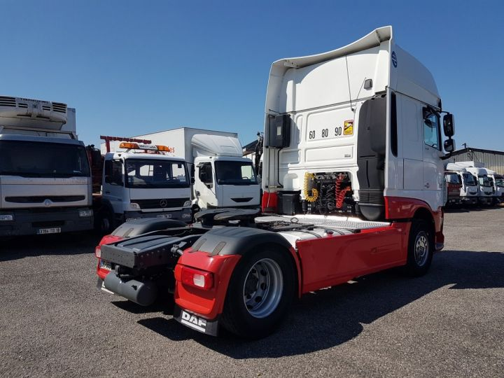 Tractor truck Daf XF 106.510 SSC - INTARDER BLNC - ROUGE - 2