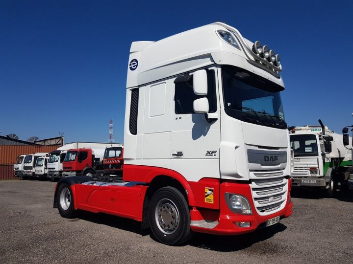 Tractor truck Daf XF 106.510 SSC - INTARDER BLNC - ROUGE - 3