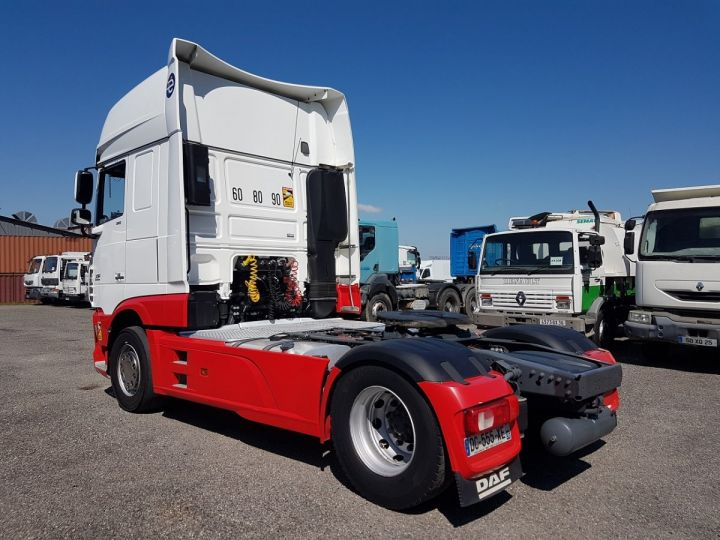 Tractor truck Daf XF 106.510 SSC - INTARDER BLNC - ROUGE - 4