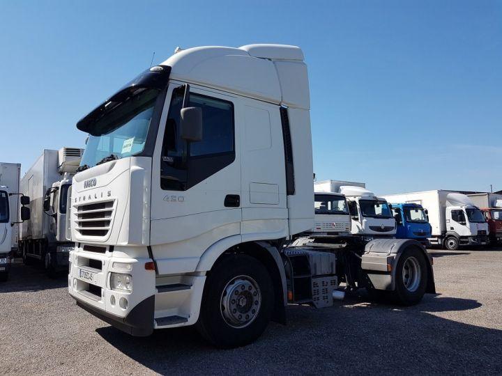 Tractor truck Iveco Stralis 430 EUROTRONIC - Sans carte grise BLANC - 1
