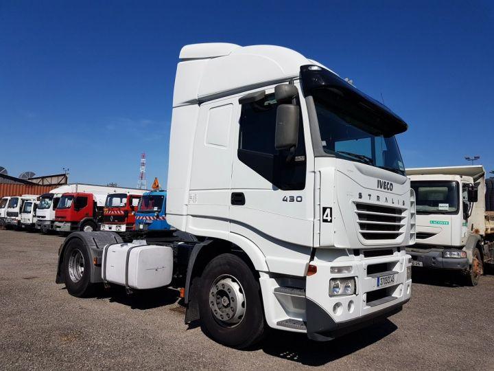 Tractor truck Iveco Stralis 430 EUROTRONIC - Sans carte grise BLANC - 3