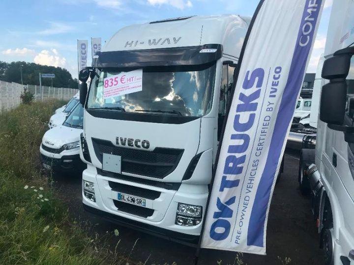 Tractor truck Iveco Stralis Hi-Way AS440S46 TP E6 - offre de location 835 Euro HT x 36 mois* Blanc - 1