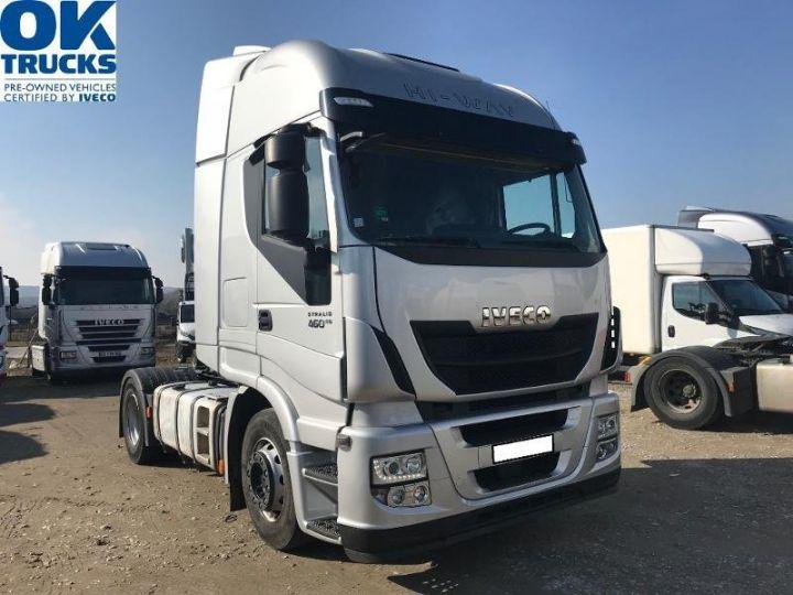 Tractor truck Iveco Stralis Hi-Way AS440S46 TP E6 - offre de location 998 Euro HT x 36 mois* Gris Clair Métal - 1