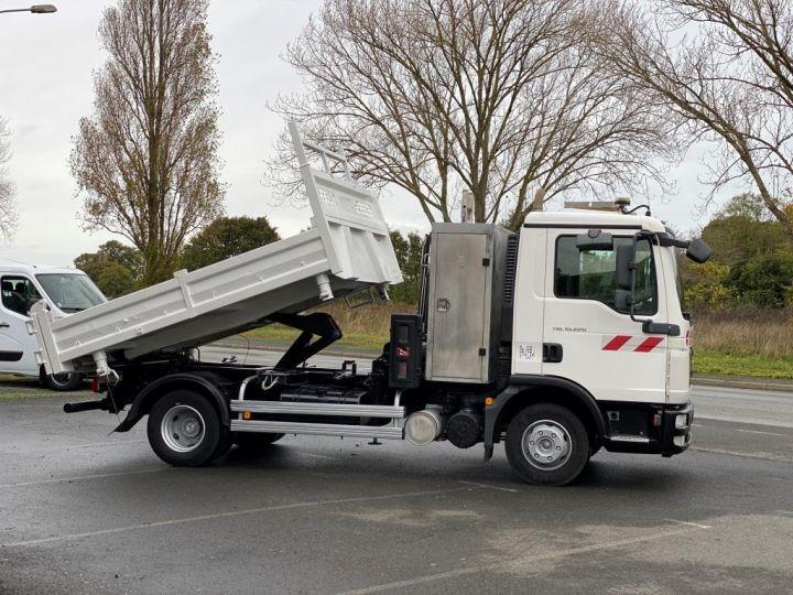 Tractor truck Man TGL 10.220 BI BENNE GRUE BLANC - 8