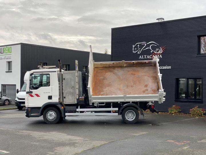 Tractor truck Man TGL 10.220 BI BENNE GRUE BLANC - 9