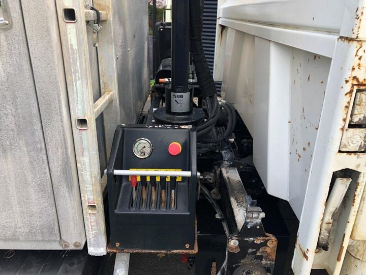 Tractor truck Man TGL 10.220 BI BENNE GRUE BLANC - 12