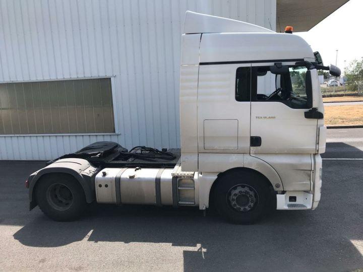 Tractor truck Man TGX 18-480 Blanc - 3
