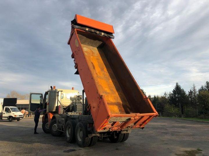 Tractor truck Mercedes Actros 3241 8x4 BI BENNE HYDRAULIQUE ROUGE - 8