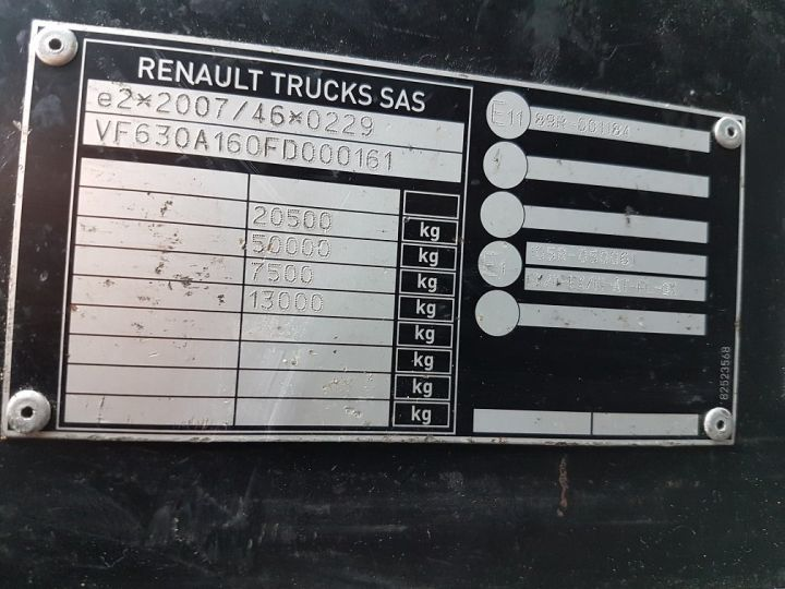 Tractor truck Renault C 430 A.D.R. BLANC - 14