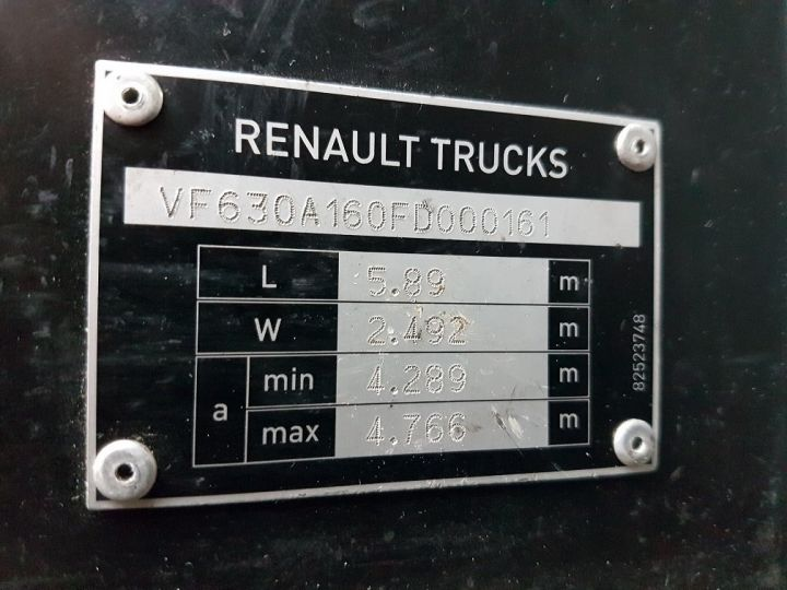 Tractor truck Renault C 430 A.D.R. BLANC - 15