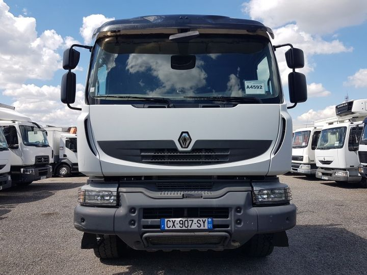 Tractor truck Renault Kerax 520dxi.35 6x4 HEAVY - GRUMIER BLANC - GRIS - ROUGE - 8