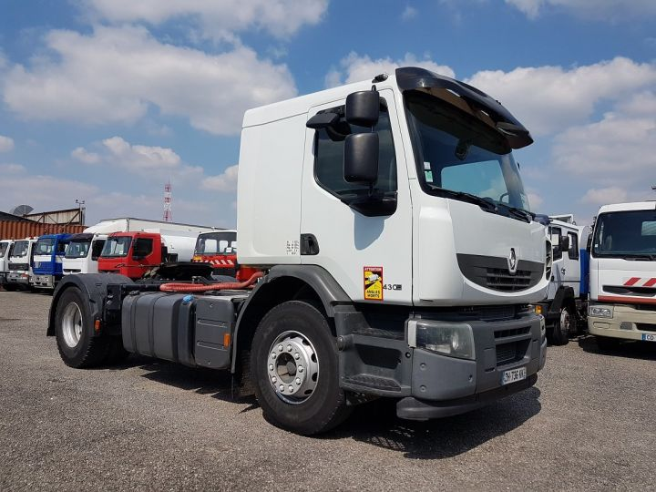 Tractor truck Renault Premium Lander 430dxi RETARDER BLANC - 3