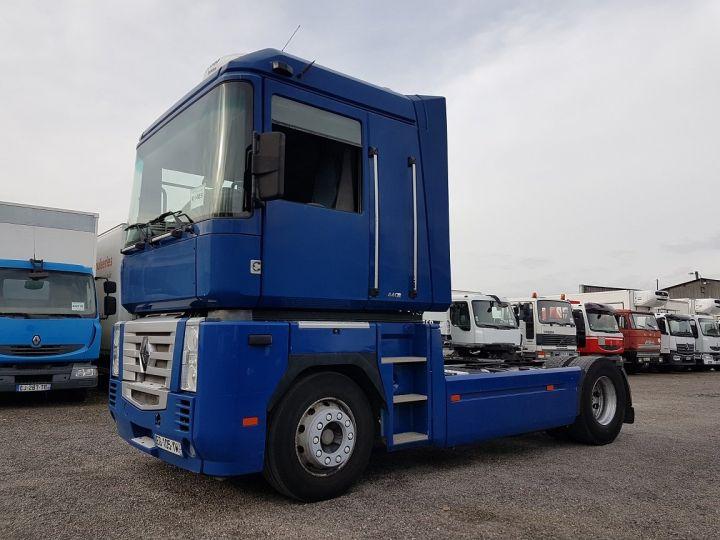 Tractor truck Renault Magnum 440dxi MANUAL BLEU GEFCO - 1