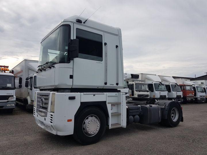 Tractor truck Renault Magnum 440dxi OPTIDRIVER BLANC - 1