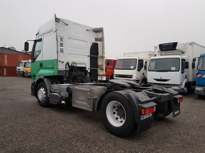 Tractor truck Renault Premium 420dci PRIVILEGE BLANC - VERT - 4
