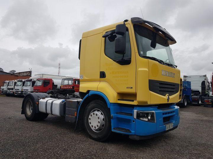 Tractor truck Renault Premium 450dxi - MANUEL + INTARDER JAUNE - BLEU - 3