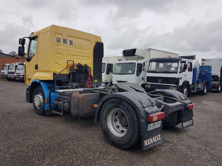 Tractor truck Renault Premium 450dxi - MANUEL + INTARDER JAUNE - BLEU - 4