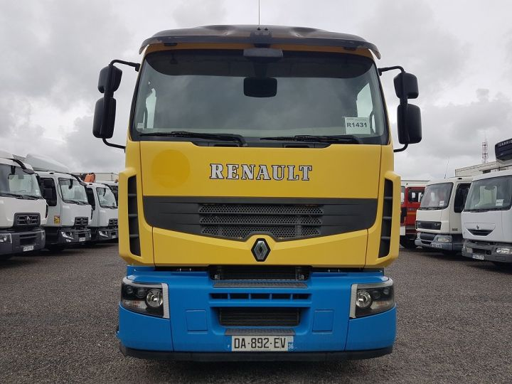 Tractor truck Renault Premium 450dxi - MANUEL + INTARDER JAUNE - BLEU - 5