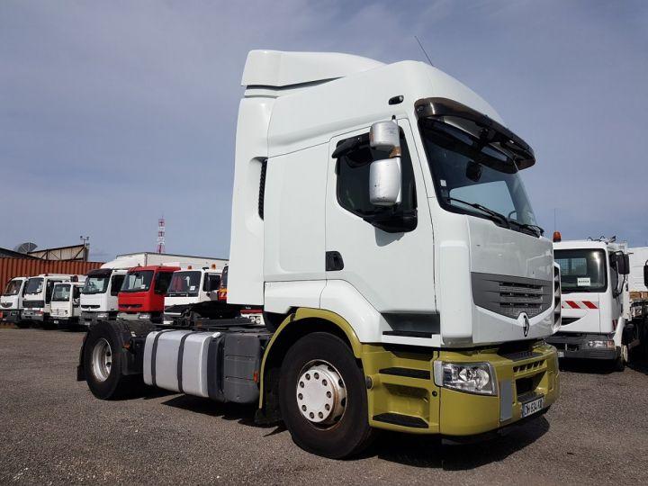 Tractor truck Renault Premium 450dxi PRIVILEGE BLANC - VERT - 3