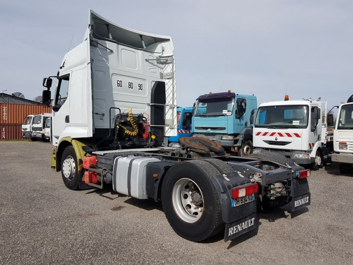 Tractor truck Renault Premium 450dxi PRIVILEGE BLANC - VERT - 4