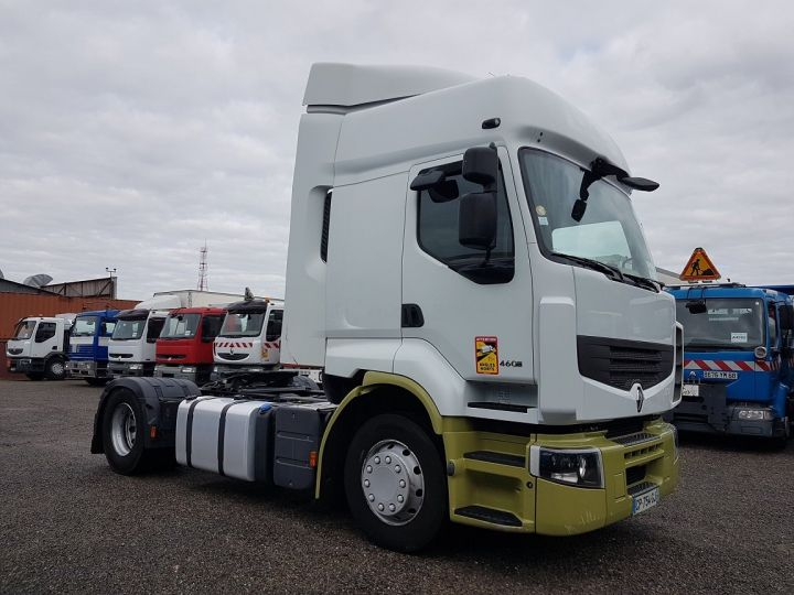Tractor truck Renault Premium 460dxi PRIVILEGE euro 5 BLANC - VERT - 3