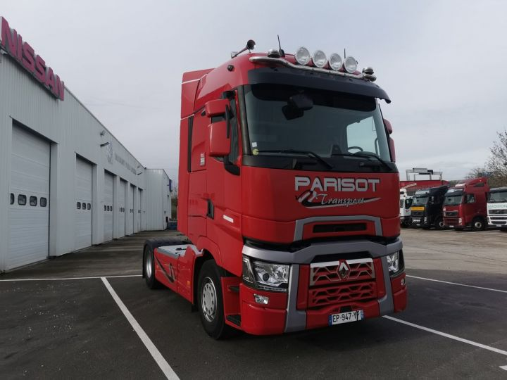 Tractor truck Renault T T 520 4x2 euro 6 ROUGE  - 1