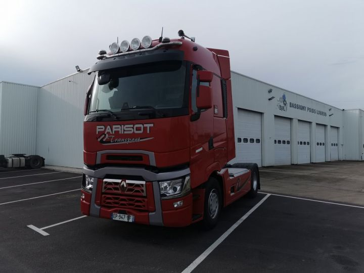 Tractor truck Renault T T 520 4x2 euro 6 ROUGE  - 2