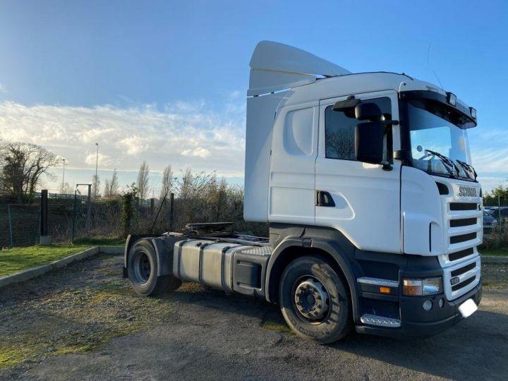 Tractor truck Scania R 420 BLANC - 2