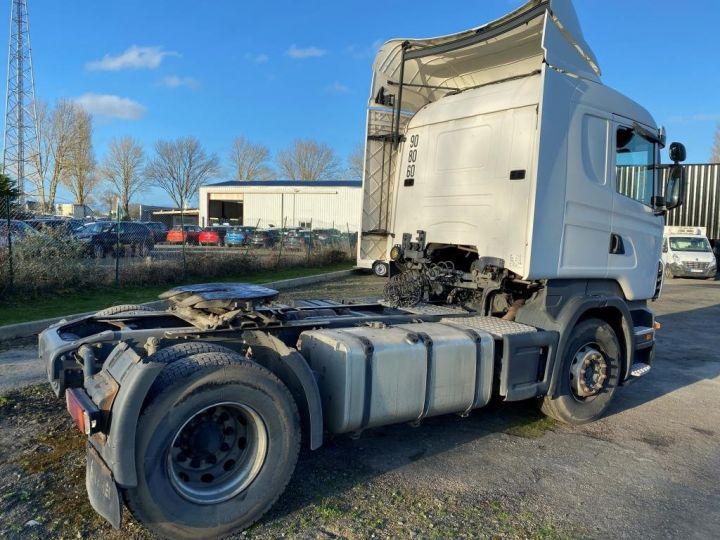 Tractor truck Scania R 420 BLANC - 3