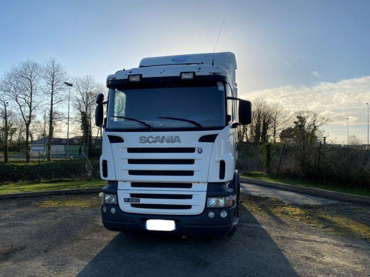 Tractor truck Scania R 420 BLANC - 19