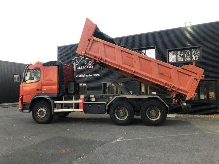 Tractor truck Volvo FM VOLVO FM 400 N3G 6x4 BI BENNE RIDELLE HYDRAULIQUE PORTE AR HYDRAULIQUE ROUGE - 9