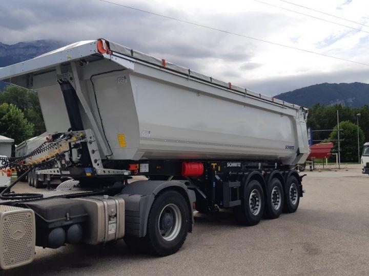 Trailer Schmitz Back Dump/Tipper body Benne acier DISPO Gris clair RAL 7035 - 3