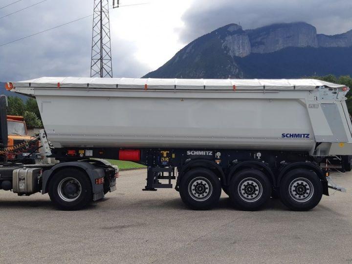 Trailer Schmitz Back Dump/Tipper body Benne acier DISPO Gris clair RAL 7035 - 4