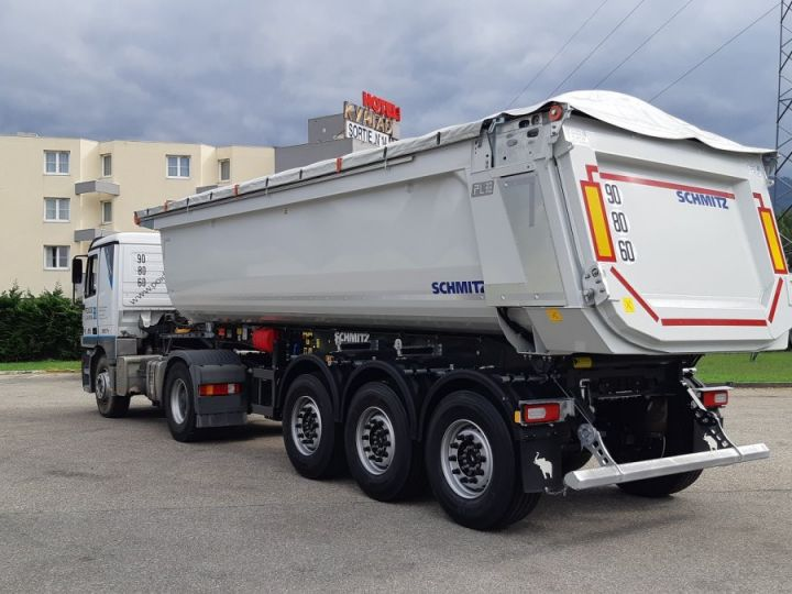 Trailer Schmitz Back Dump/Tipper body Benne acier DISPO Gris clair RAL 7035 - 5