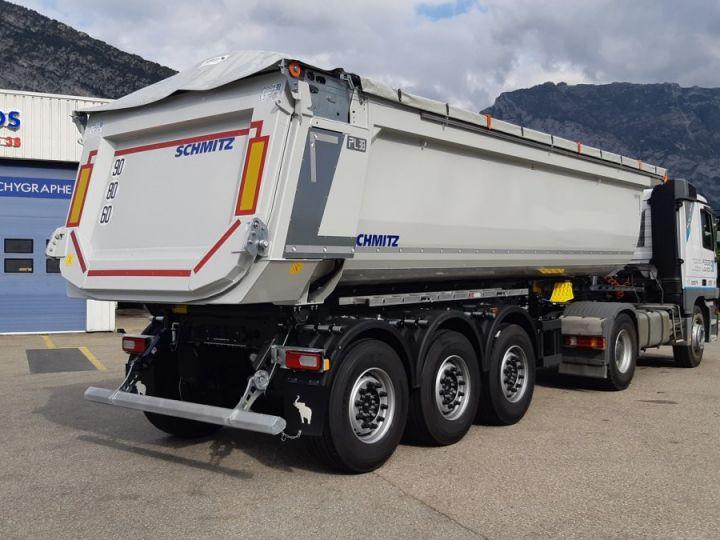 Trailer Schmitz Back Dump/Tipper body Benne acier DISPO Gris clair RAL 7035 - 7