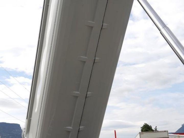 Trailer Schmitz Back Dump/Tipper body Benne acier DISPO Gris clair RAL 7035 - 8