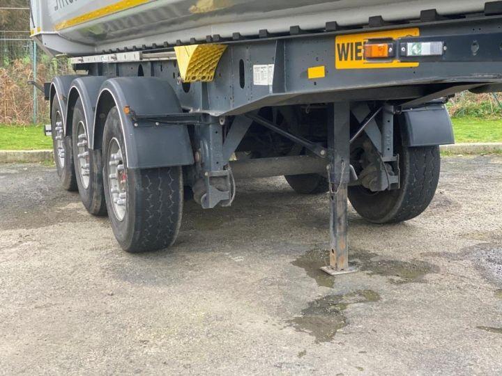 Trailer Wielton Back Dump/Tipper body ALU DEMI RONDE STRONG MASTER 3 ESSIEUX GRIS - 2