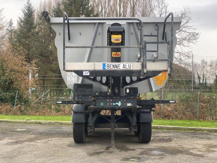 Trailer Wielton Back Dump/Tipper body ALU DEMI RONDE STRONG MASTER 3 ESSIEUX GRIS - 5