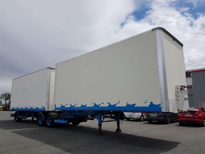 Trailer Asca S219CA Box body BI-TRAIN FOURGON CARGO-ROUTE BLANC - BLEU - 3