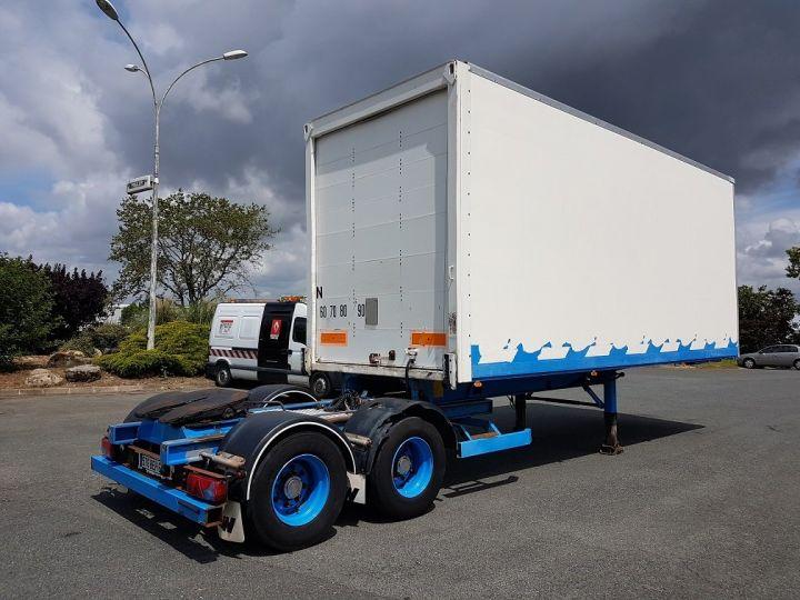 Trailer Asca S219CA Box body BI-TRAIN FOURGON CARGO-ROUTE BLANC - BLEU - 5