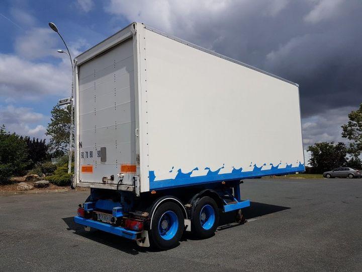 Trailer Asca S219CA Box body BI-TRAIN FOURGON CARGO-ROUTE BLANC - BLEU - 7